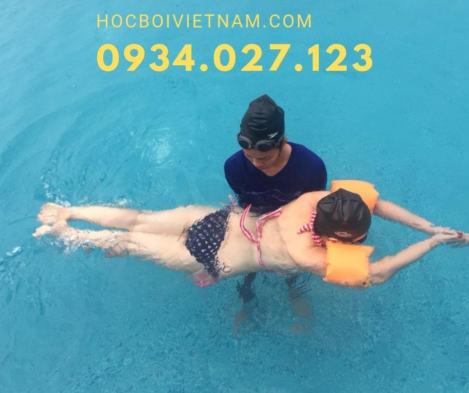 học bơi kèm riêng tại TPHCM
