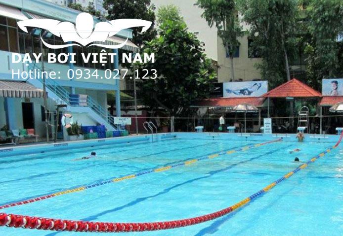khoá học bơi ở quận 3 tại hồ bơi kỳ đồng