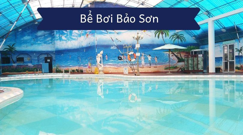 bể bơi bảo sơn địa điểm bơi lội cực kỳ lý tưởng dành cho bạn