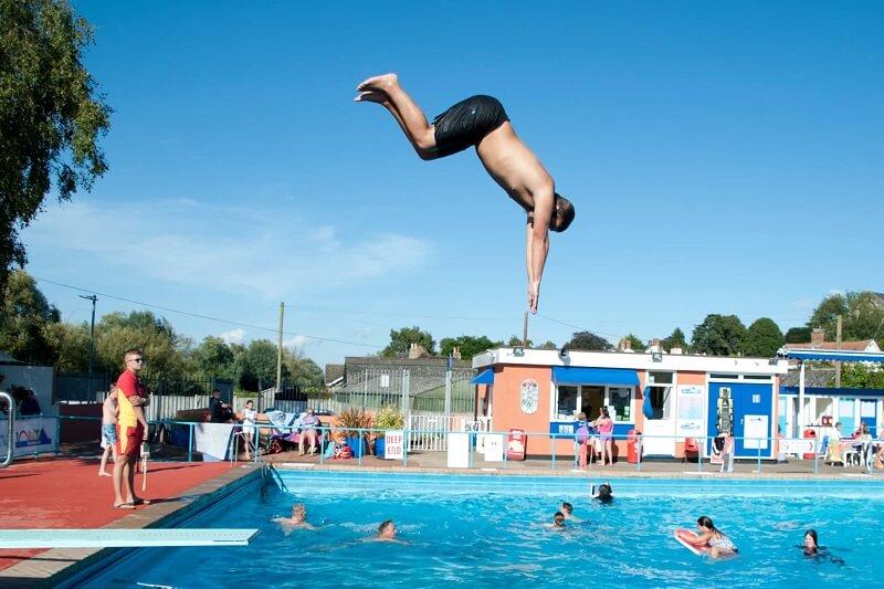Học Bơi Quận Bình Thạnh - Hồ Bơi Lido
