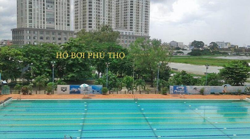 Hồ bơi phú thọ