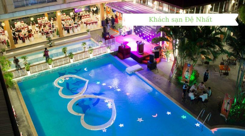 Hồ bơi khách sạn đệ nhất địa điểm bơi lội lý tưởng dành cho bạn.