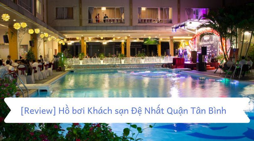 Hồ bơi khách sạn đệ nhất