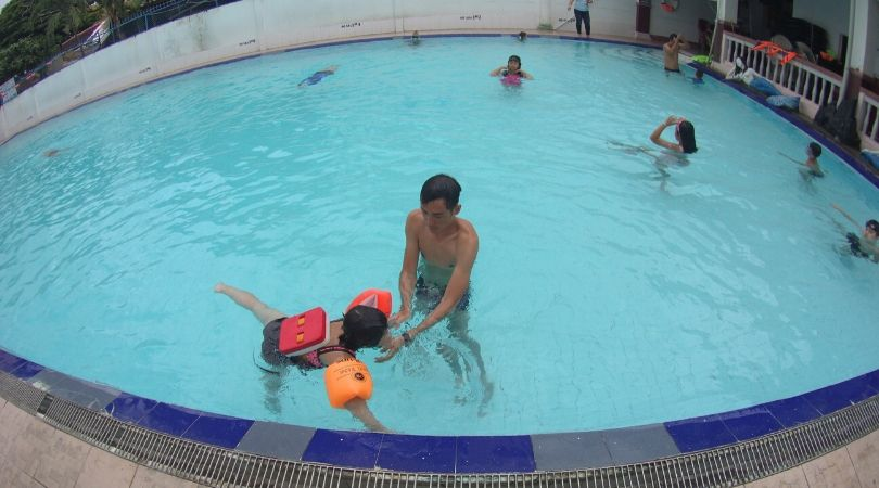 Hồi bơi Đại Đồng quận Bình Thạnh