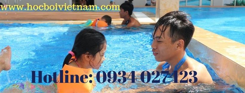 học bơi ở hồ bơi tản đà